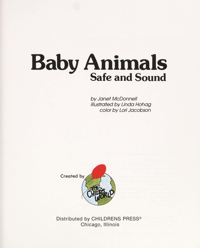 Baby animals by Janet McDonnell