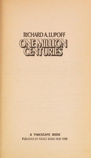 Cover of: One Million Centuries