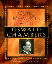 Cover of: Quiet Moments With Oswald Chambers