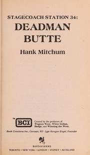 Cover of: STAGE/STA/ | Hank Mitchum