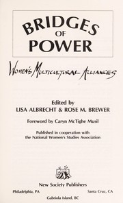 Cover of: Bridges of power