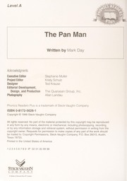 Cover of: The Pan Man