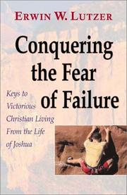 Cover of: Conquering the Fear of Failure