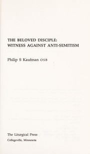 Cover of: The Beloved Disciple