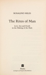 Cover of: The rites of man