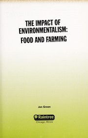 Cover of: Food and farming | Jen Green