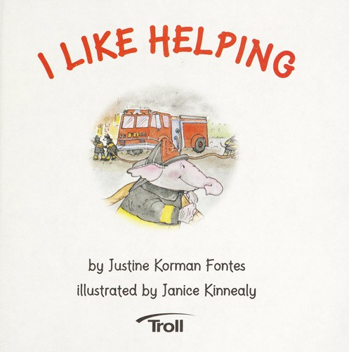 I Like Helping (A First-Start Easy Reader) by