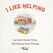 Cover of: I Like Helping (A First-Start Easy Reader) |