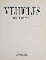 Cover of: Vehicles