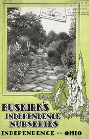Cover of: Buskirk's Independence Nurseries, Independence, Ohio [nursery stock catalog]