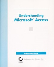 Cover of: Understanding Microsoft Access