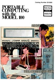 Cover of: Portable Computing with the Model 100