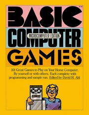 Cover of: BASIC Computer Games | David H. Ahl