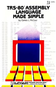 TRS-80 assembly language made simple by Earles L. McCaul