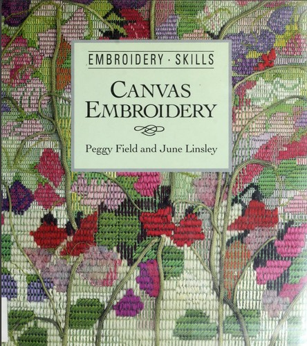 Canvas embroidery by Peggy Field