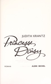 Cover of: Princesse Daisy