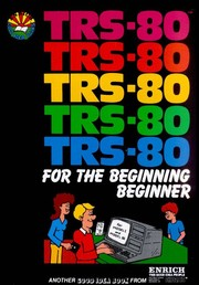 Cover of: Trs-80 for the Beginning Beginner | Margaret Steimer