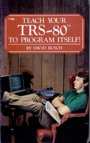 Cover of: Teach your TRS-80 to program itself