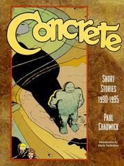 Cover of: Concrete | Paul Chadwick