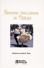 Cover of: Spanish influence in Texas | Linda B Ross