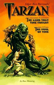 Cover of: Edgar Rice Burroughs' Tarzan in The land that time forgot