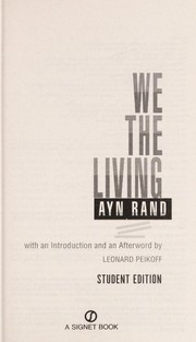 Cover of: We the Living
