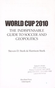 Cover of: World Cup 2010