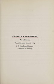 Cover of: Kentucky furniture | J.B. Speed Art Museum.