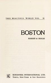 Cover of: Boston | Arthur S. Harris