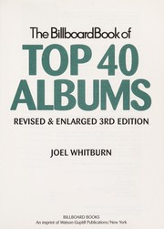 Cover of: The Billboard book of top 40 albums