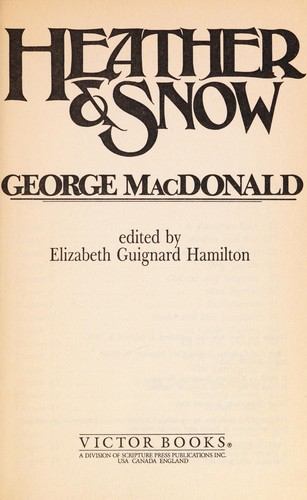 Heather & snow by George MacDonald