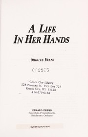 Cover of: A life in her hands