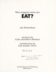 Cover of: What happens when you eat?