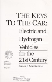 Cover of: The keys to the car | MacKenzie, James J.