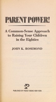 Cover of: Parent Power | John Rosemond