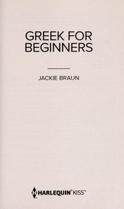 Cover of: Greek for beginners | Jackie Braun