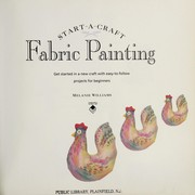 Cover of: Fabric Painting | Melanie Williams
