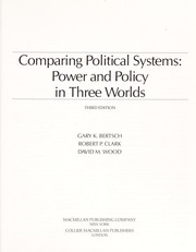 Cover of: Comparing political systems | Gary K. Bertsch