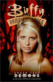 Cover of: Buffy, the vampire slayer