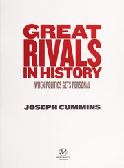 Cover of: Great rivals in history | Joseph Cummins