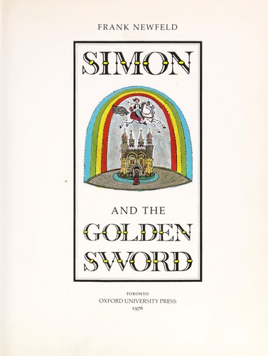 Simon and the golden sword by Frank Newfeld