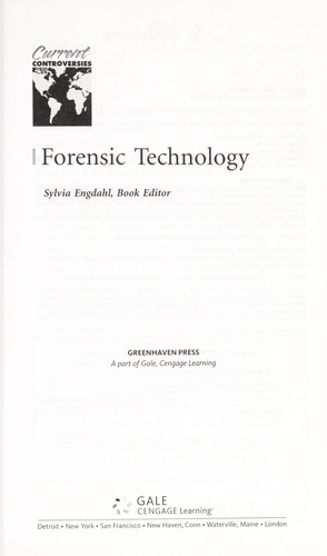 Forensic technology by Sylvia Engdahl