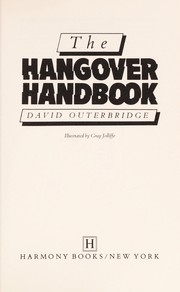 The hangover handbook by David Outerbridge