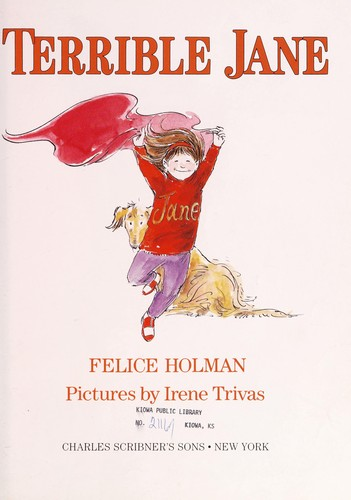 Terrible Jane by Felice Holman