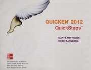 Cover of: Quicken 2012