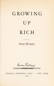Cover of: Growing up rich