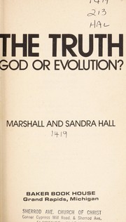 Cover of: The truth | Marshall Hall