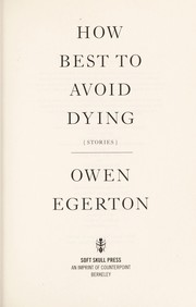 Cover of: How to best avoid dying