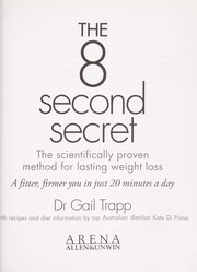 Cover of: The 8 second secret