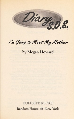I'm going to meet my mother by Megan Howard